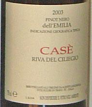 Anguissola, Pinot nero Riva del Cigliegio 2003