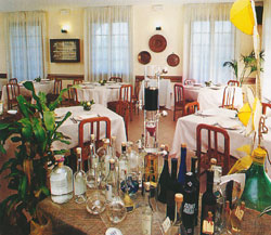 La sala del ristorante la Palta