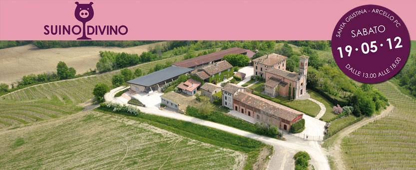 suinodivino2012 a Santa Giustina