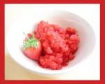 sorbetto-al-vino rosso e fragole
